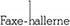 Faxehallerne Mobile Logo